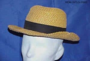 Wheat weaving hat
