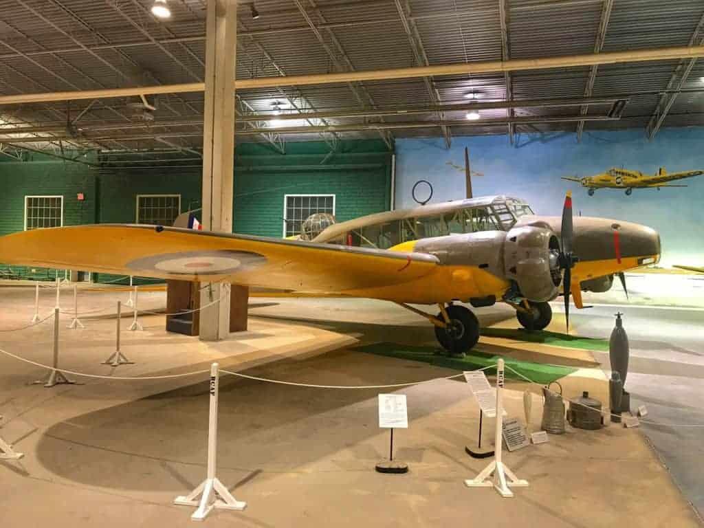 Avro Anson Mark I aircraft