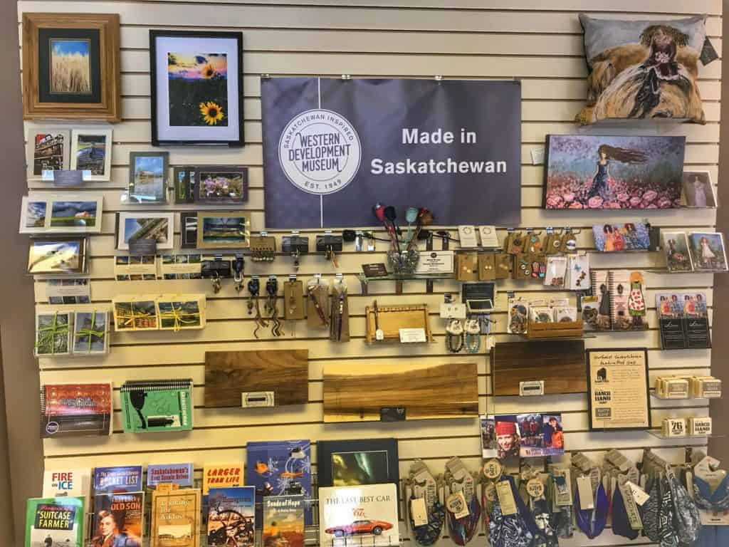 WDM Moose Jaw Gift Shop Sask Inspired items