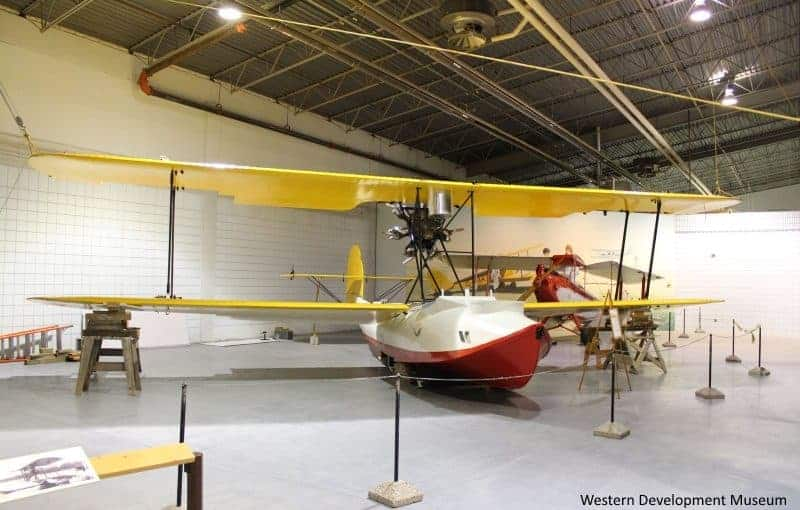 Vickers Vedette - Western Development Museum