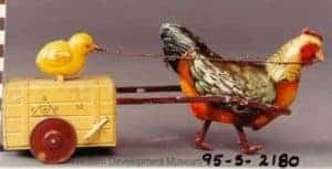 : Mechanical hen and chick