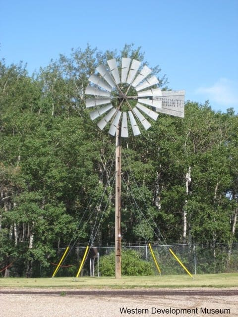 Windmill outdoors at the WDM Yorkton